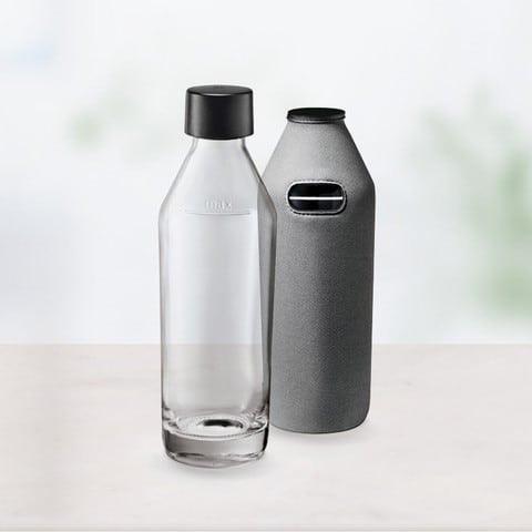 Sodapop Glasflasche mit Bottle-Shirt