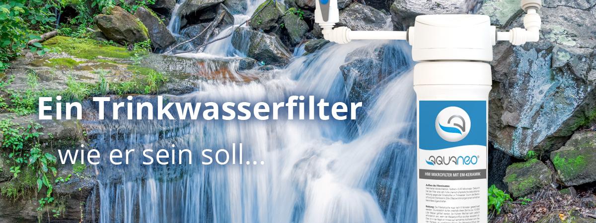 Aquaneovital Wasserfilter